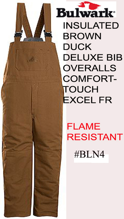 INSULATED FR BIB OVERALLS