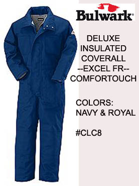FR Excel-FR Cmfortouch Deluxe Insulated Coveralls