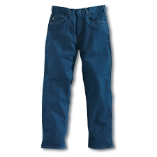 FLAME-RESISTANT RELAXED FIT DENIM JEANS