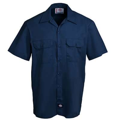 BLENDED SHORT SLEEVE WORK SHIRT